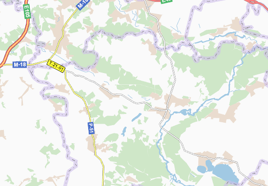 Carte-Plan Artyukhivka