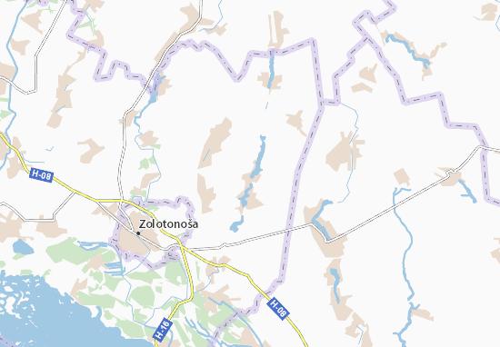 Carte-Plan Syn'ookivka
