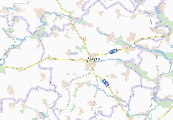 Carte-Plan Skvyra