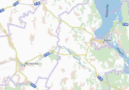 Synyavka Map