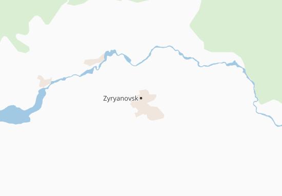 Mapas-Planos Zyryanovsk