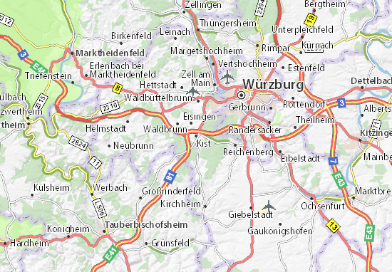 Karte Stadtplan Kist
