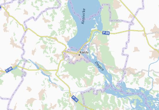 Mapas-Planos Kaniv