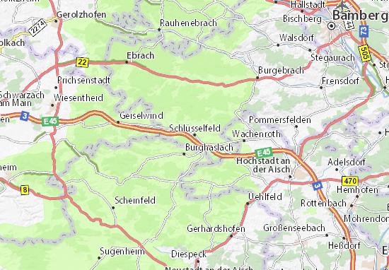 Schlüsselfeld Map