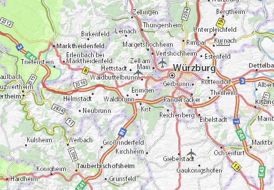 Carte-Plan Eisingen
