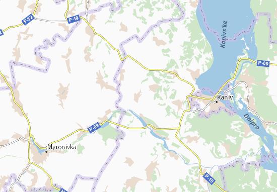 Mapas-Planos Kozarivka