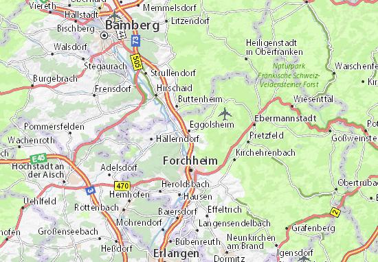 Eggolsheim Map