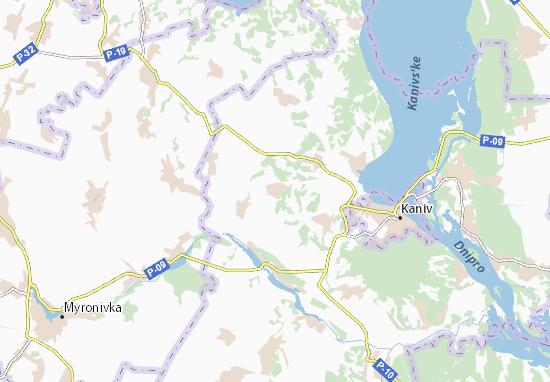 Mapas-Planos Kurylivka