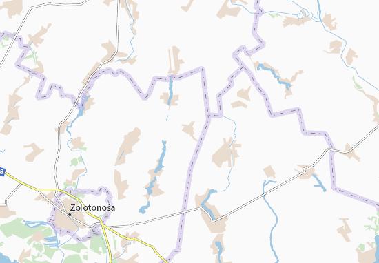 Mapas-Planos Kryvonosivka