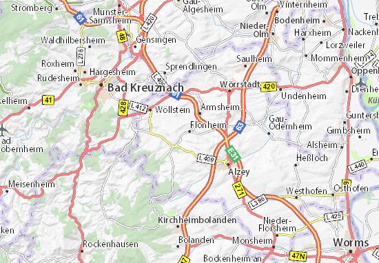 Carte-Plan Flonheim