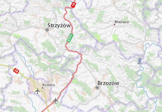 Mapa Domaradz