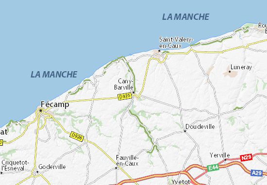 Mappe-Piantine Cany-Barville