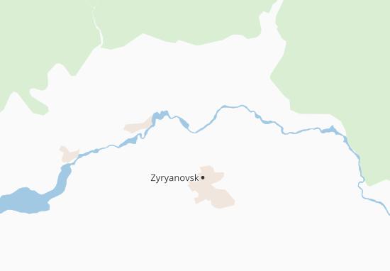 Kaart Plattegrond Zubovka