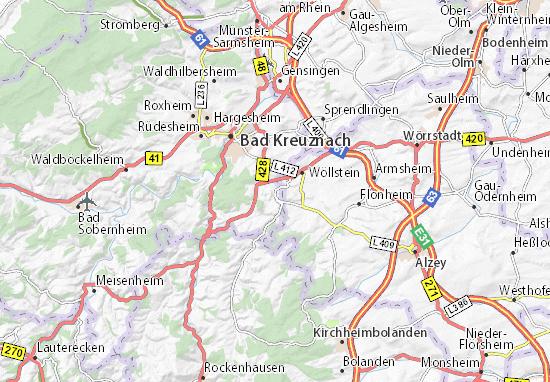 Karte Bamberg Landkarte.Karte Stadtplan Neu Bamberg Viamichelin