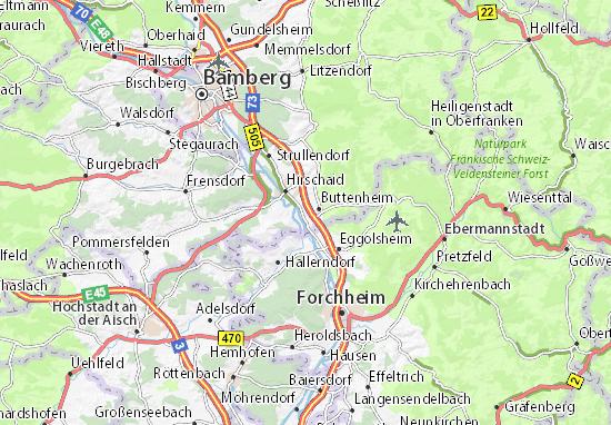 Mapa Plano Altendorf