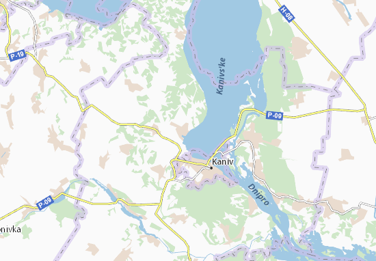 Mapas-Planos Bobrytsya