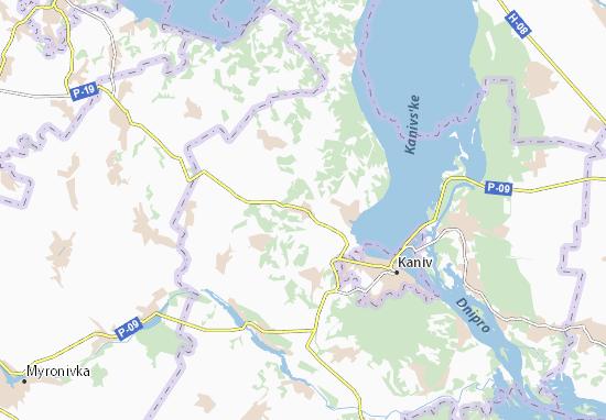 Mapas-Planos Hryshchyntsi