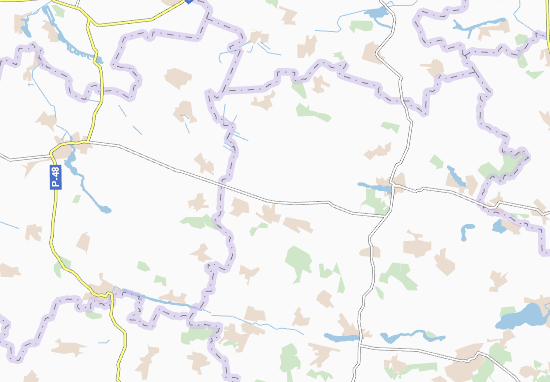 Mapas-Planos Reshnivka