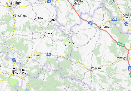 Mappe-Piantine Proseč