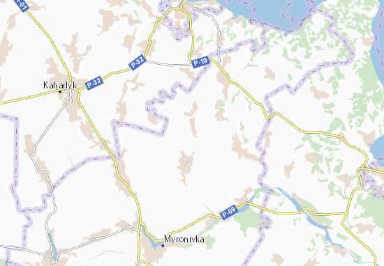 Mapas-Planos Kyp'yachka