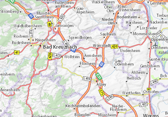 Mapas-Planos Armsheim