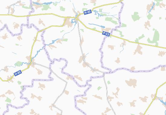 Carte-Plan Motovylivka