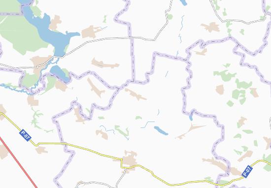 Mapas-Planos Velyki Khutory