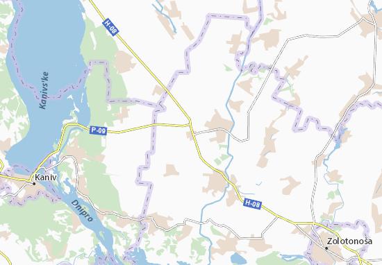 Mapas-Planos Sofiivka