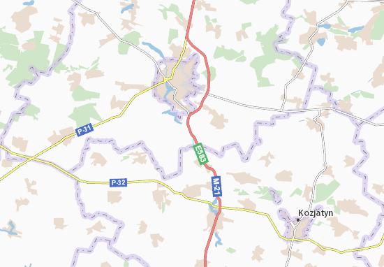 Mapa Plano Khazhyn