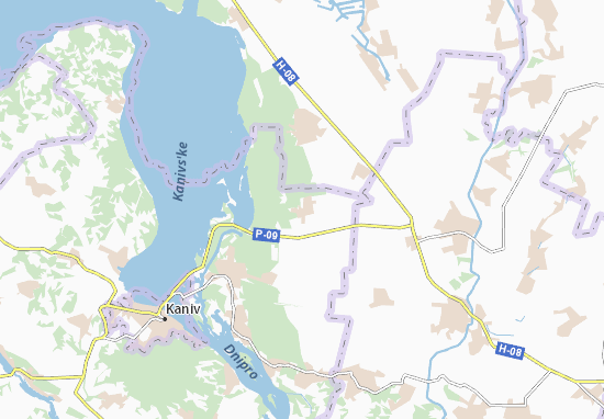 Mapas-Planos Ozeryshche