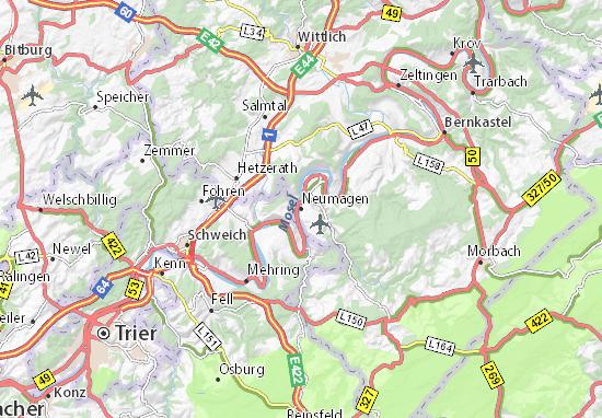 Neumagen Map
