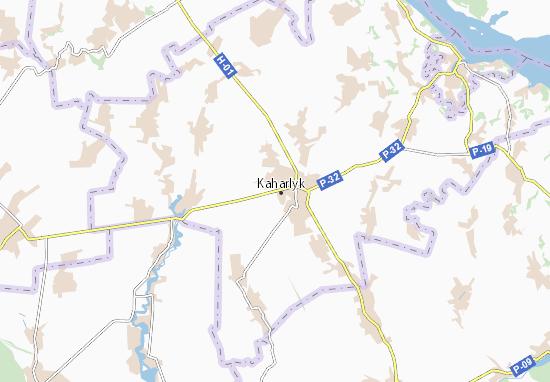 Mapas-Planos Kaharlyk