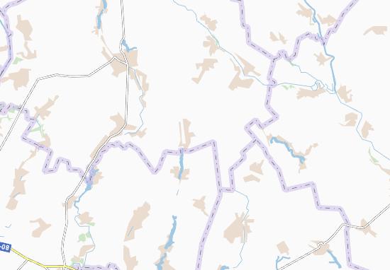 Carte-Plan Mekhedivka