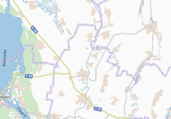 Mapas-Planos Kalenyky