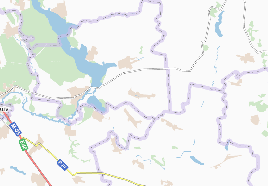 Mappe-Piantine Novyi Burluk