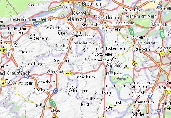 Mapa Mommenheim
