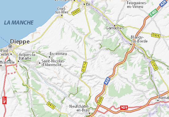 La Londe Map
