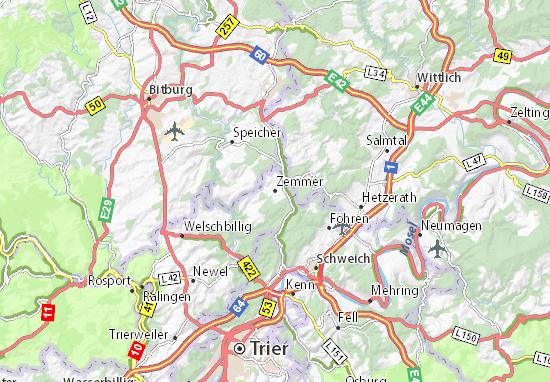 Zemmer Map