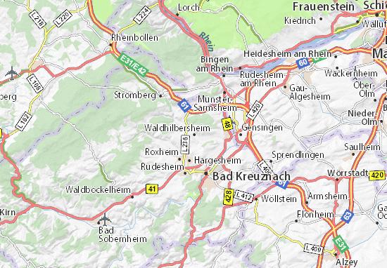 Carte-Plan Waldhilbersheim