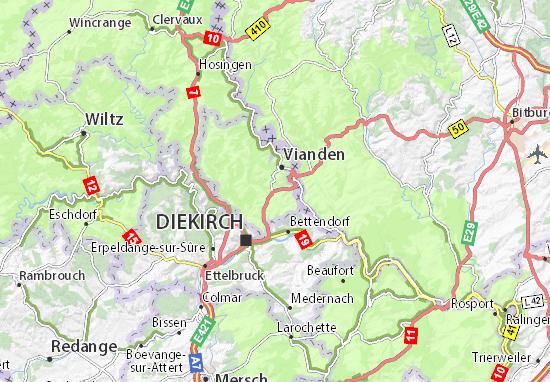Fouhren Map
