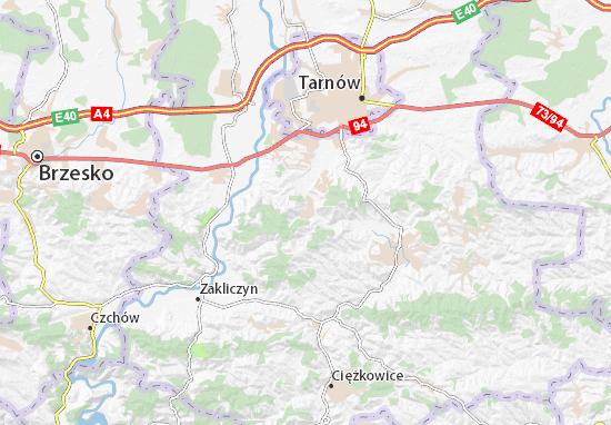 Pleśna Map