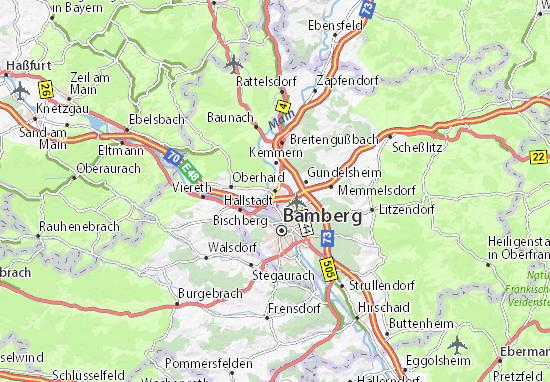 Carte-Plan Hallstadt