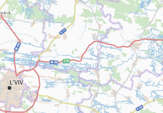 Mapas-Planos Didyliv