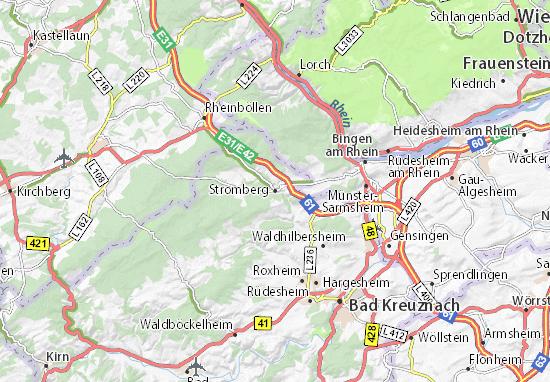 Kaart Plattegrond Stromberg