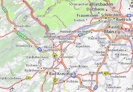 Carte-Plan Ockenheim