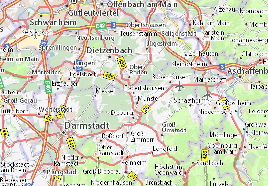 Carte-Plan Eppertshausen