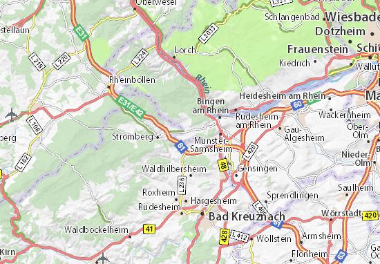 Mapa Waldalgesheim