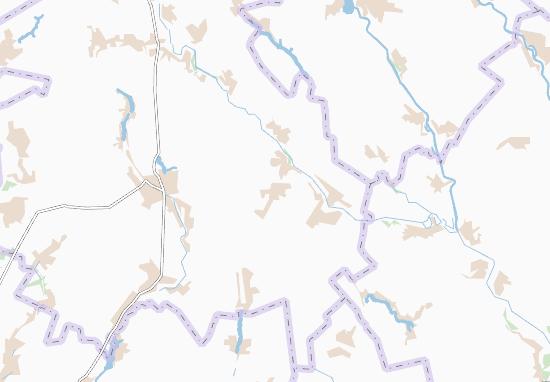 Drabove-Baryatyns'ke Map