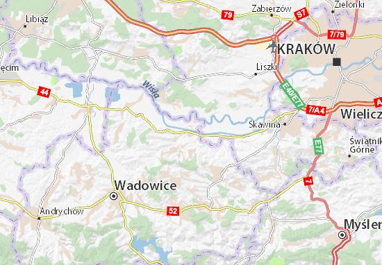 Brzeźnica Map