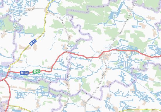 Mapas-Planos Novyi Mylyatyn